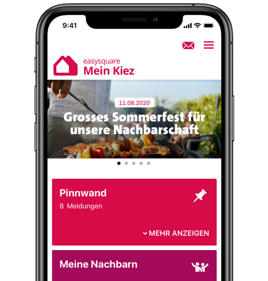 Digitales Quartiersmanagement mit der meinKiez-App